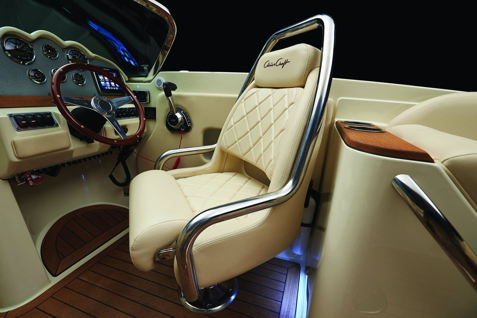Chris Craft Launch 27 Captains Chair