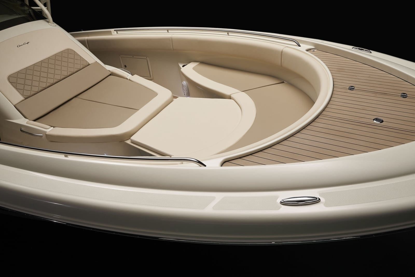 Chris Craft Catalina 34 Bow Seating and Table