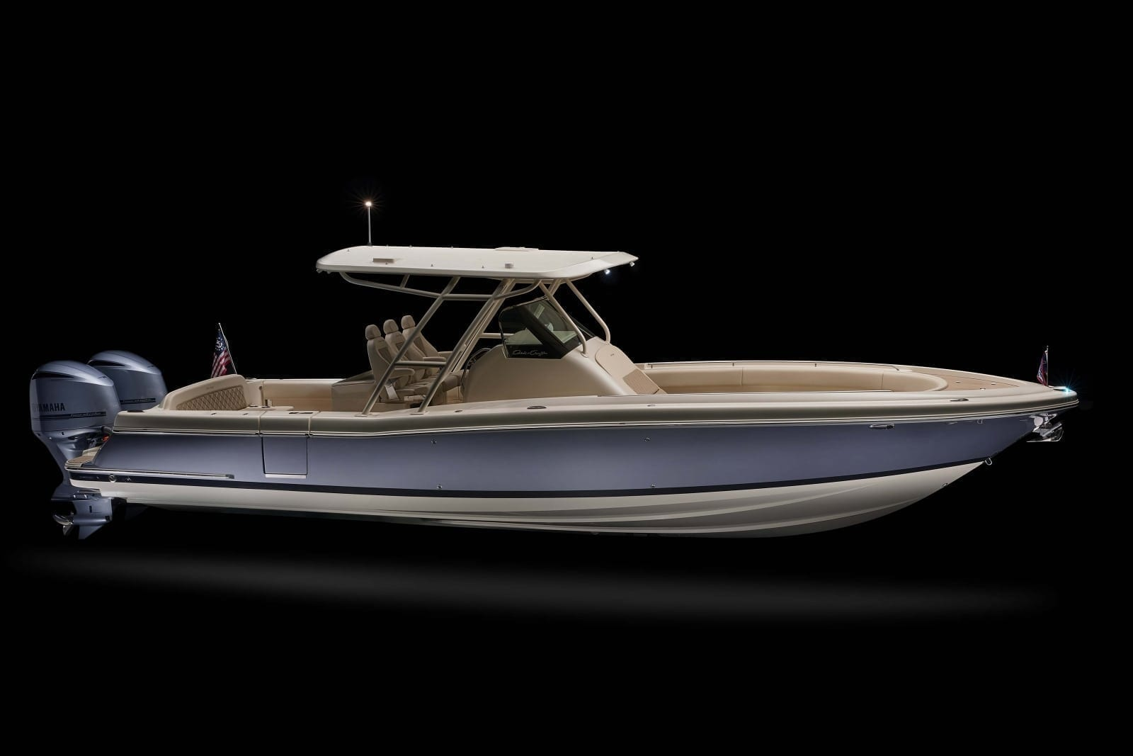 Chris Craft Catalina 34 Side Profile View