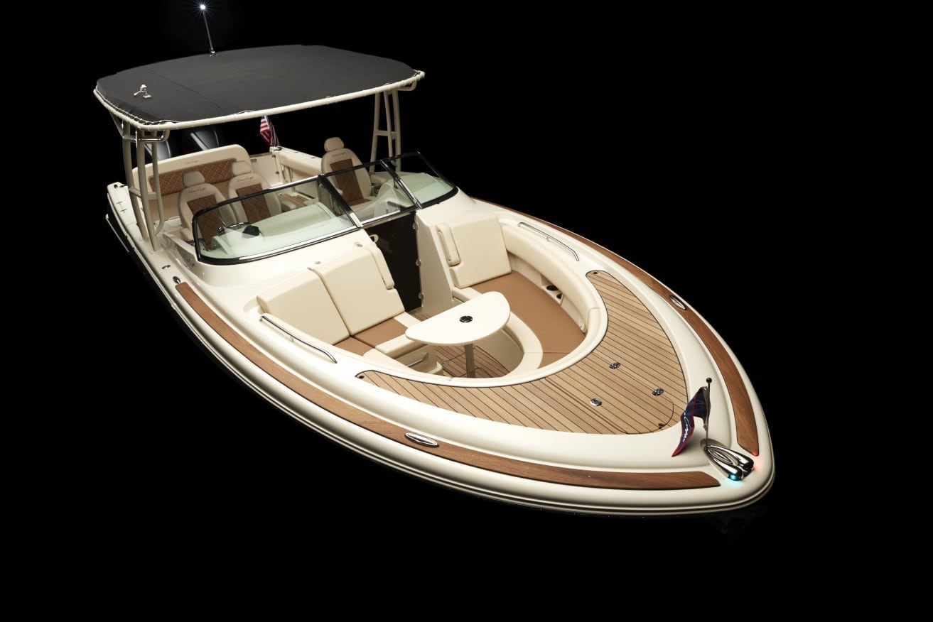 Chris Craft Calypso 30 Bow High Shot